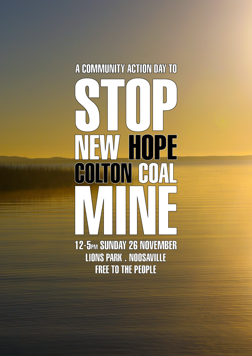 STOP NEW HOPE COLTON COAL MINE